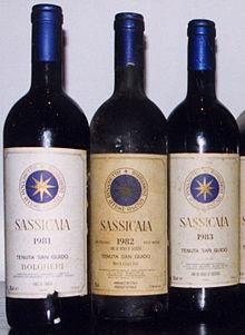 Sassicaia, il vino più pregiato al mondo