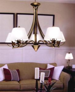 lampadari da soggiorno classici